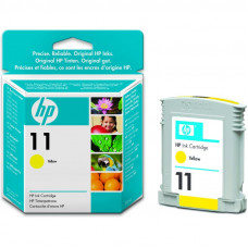HP  11 YELLOW INKJET PRINT CARTRIDGE (28 ML) - BUSINESS INKJET 2200 / 2250 / 2250TN / 2600 / COLOR INKJET CP 1700