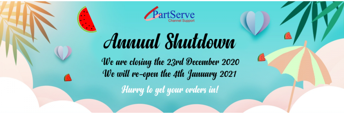 Year End Closing Dates