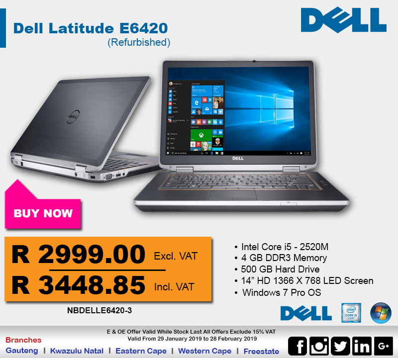 Dell E6420 Notebook Deal!!