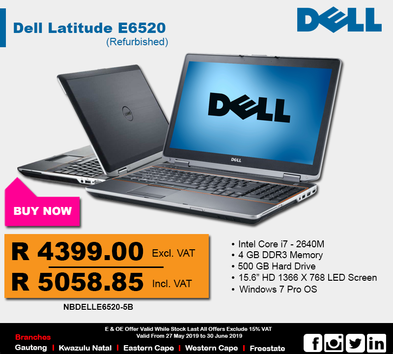 Dell i5 Laitutde E6420 Notebook Deal