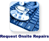 request onsite repairs